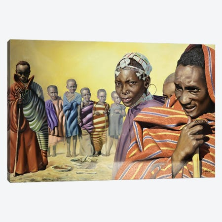 """Africa Ten - Illusion Canvas Print #RSR428} by D. """"Rusty"""" Rust Canvas Print"""