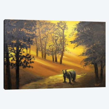 "Unbearable Canvas Print #RSR9} by D. ""Rusty"" Rust Art Print"