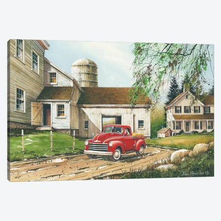 Rural Living Canvas Print #RSS10} by John Rossini Canvas Wall Art