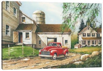 Rural Living Canvas Art Print