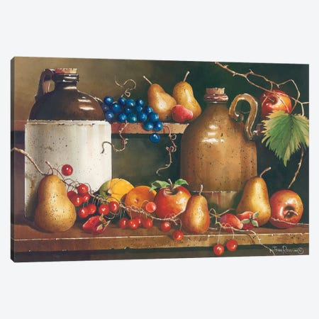 A Passion for Fruit Canvas Print #RSS11} by John Rossini Canvas Wall Art