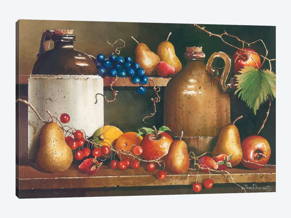 A Passion for Fruit by John Rossini 1-piece Canvas Art