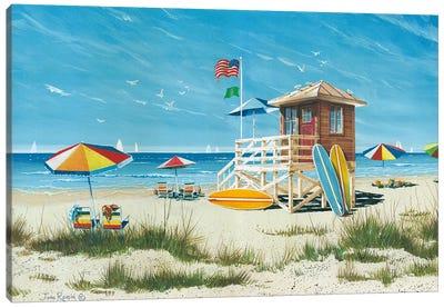 Beach Colors Canvas Art Print
