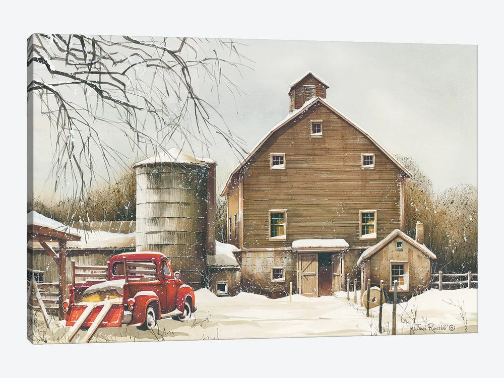 Clearing Out by John Rossini 1-piece Canvas Wall Art