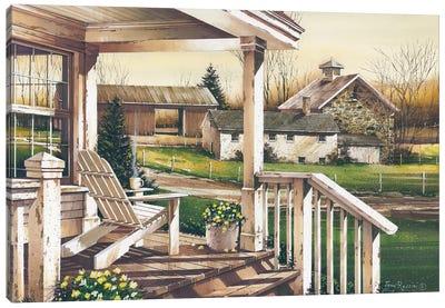 Long Days End Canvas Art Print