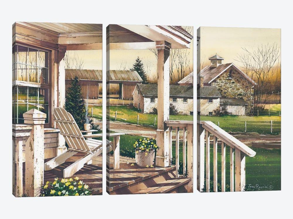 Long Days End by John Rossini 3-piece Art Print