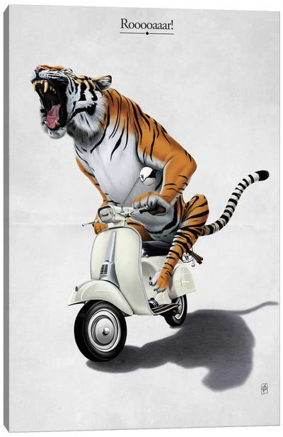 Rooooaaar! I Canvas Art Print
