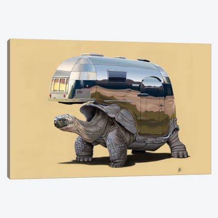 Pimp My Ride III Canvas Print #RSW10} by Rob Snow Canvas Artwork