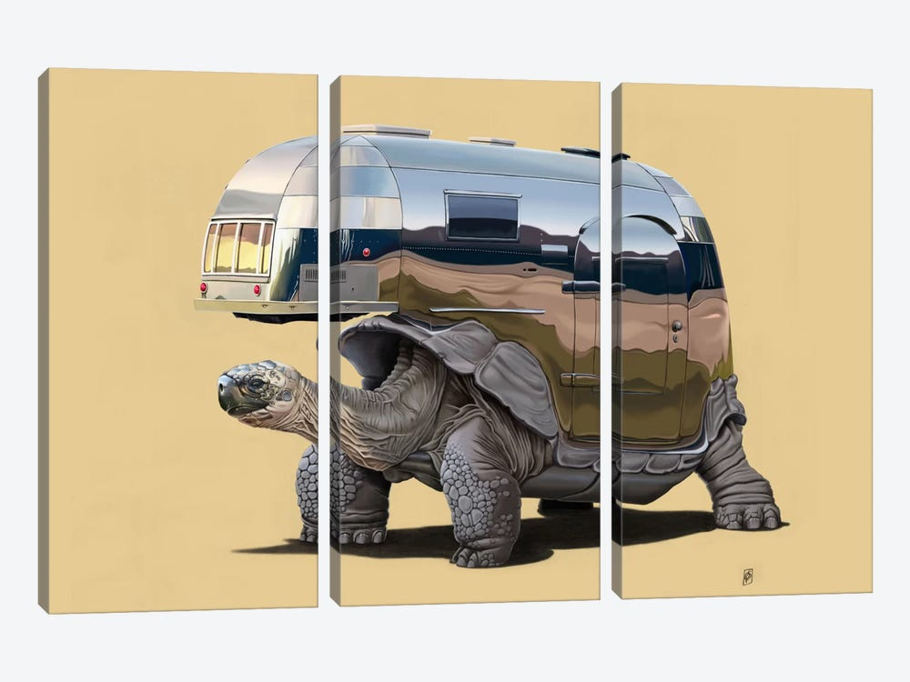 Pimp My Ride III by Rob Snow 3-piece Canvas Wall Art