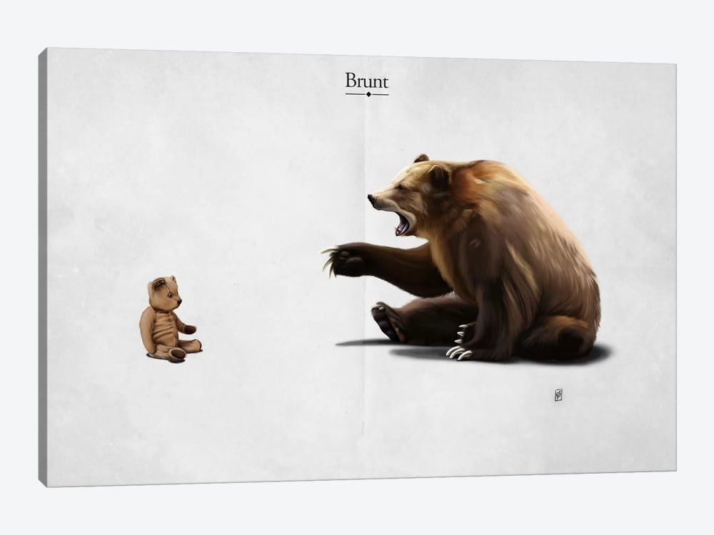 Brunt I by Rob Snow 1-piece Canvas Art Print