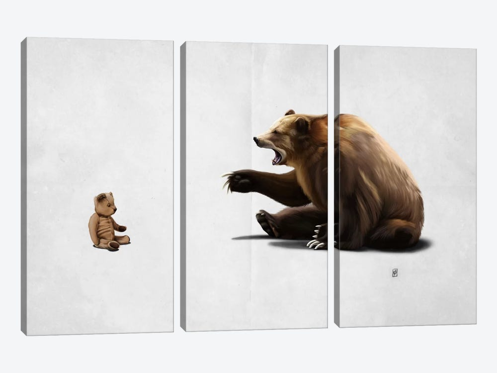 Brunt II by Rob Snow 3-piece Canvas Wall Art