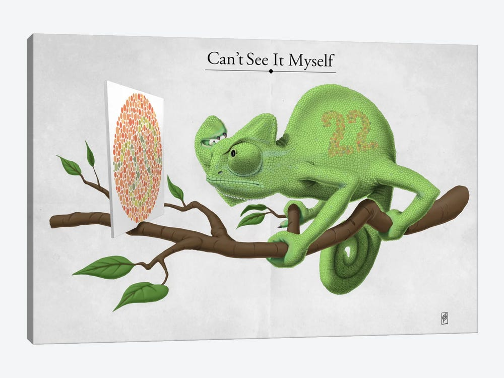 Can't See It Myself 1-piece Art Print