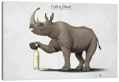 Cork It, Dürer! I Canvas Print #RSW115