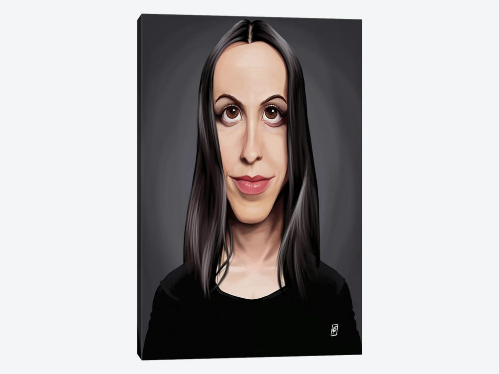 Alanis Morissette by Rob Snow 1-piece Canvas Wall Art
