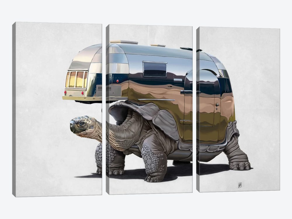 Pimp My Ride II by Rob Snow 3-piece Canvas Print