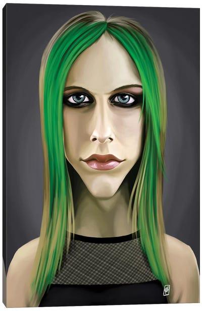 Celebrity Sunday Series: Avril Lavigne Canvas Print #RSW125