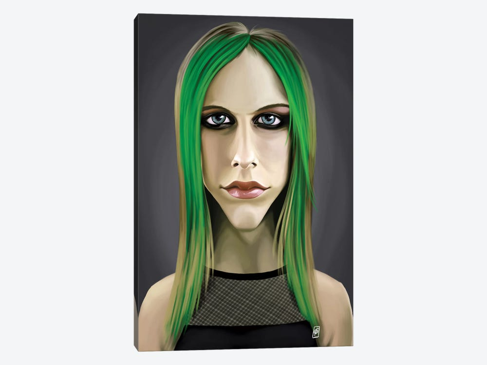 Avril Lavigne by Rob Snow 1-piece Canvas Print