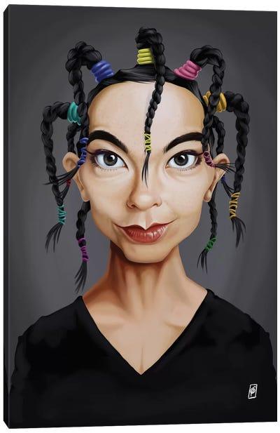 Björk Canvas Art Print