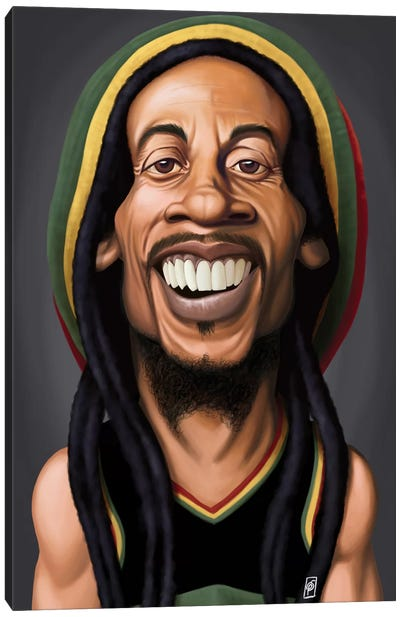 Celebrity Sunday Series: Bob Marley Canvas Art Print