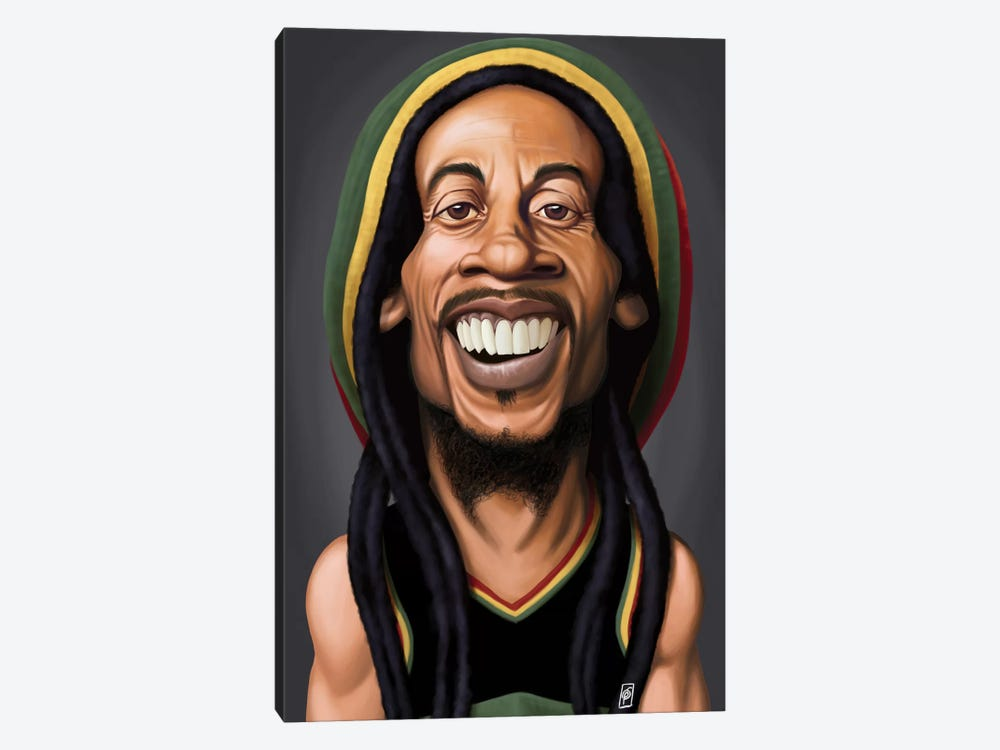 Bob Marley 1-piece Canvas Art
