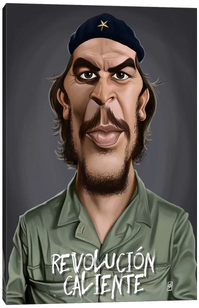 Celebrity Sunday Series: Che Guevara (Revolucion Caliente) Canvas Print #RSW131