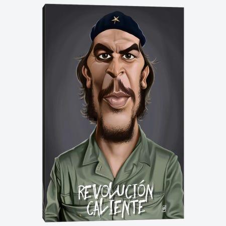 Che Guevara (Revolucion Caliente) Canvas Print #RSW131} by Rob Snow Canvas Art Print