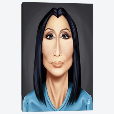Cher Canvas Print #RSW132} by Rob Snow Canvas Print