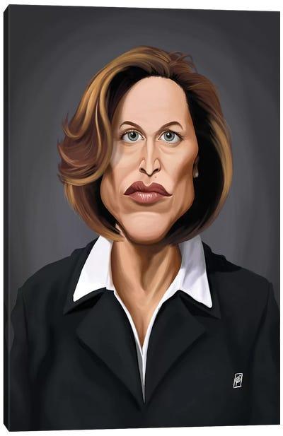 Gillian Anderson Canvas Art Print