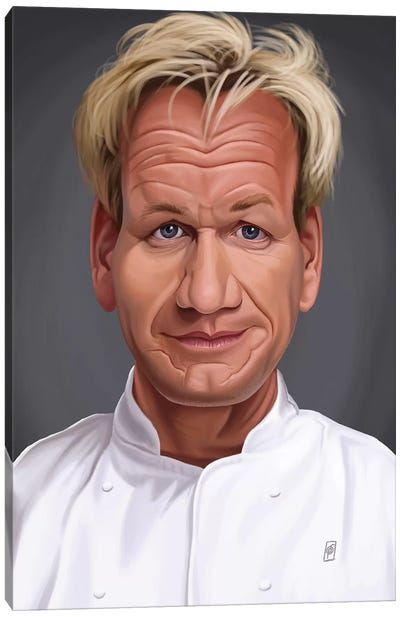 Gordon Ramsey Canvas Art Print