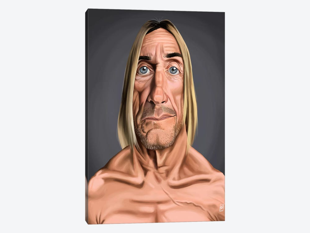 Iggy Pop by Rob Snow 1-piece Canvas Wall Art
