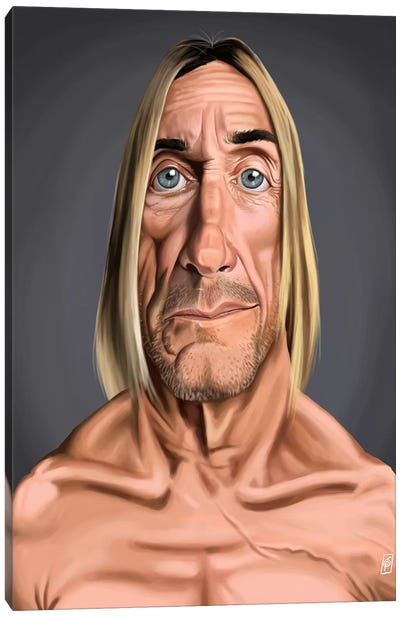 Iggy Pop Canvas Art Print