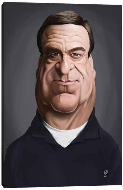 John Goodman Canvas Art Print