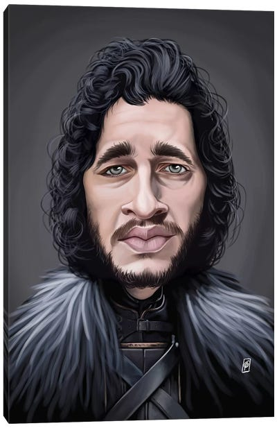 Kit Harington Canvas Art Print
