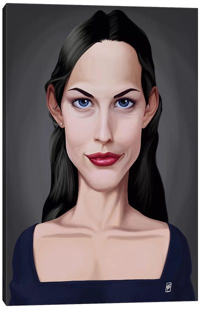 Liv Tyler Canvas Art Print