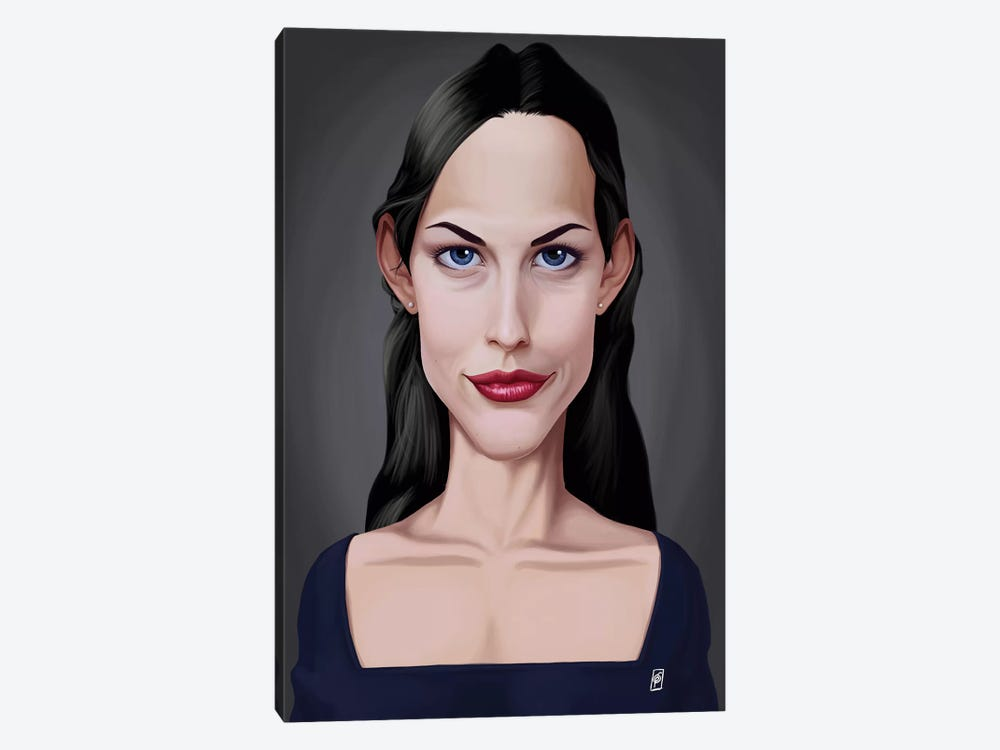Liv Tyler by Rob Snow 1-piece Canvas Art