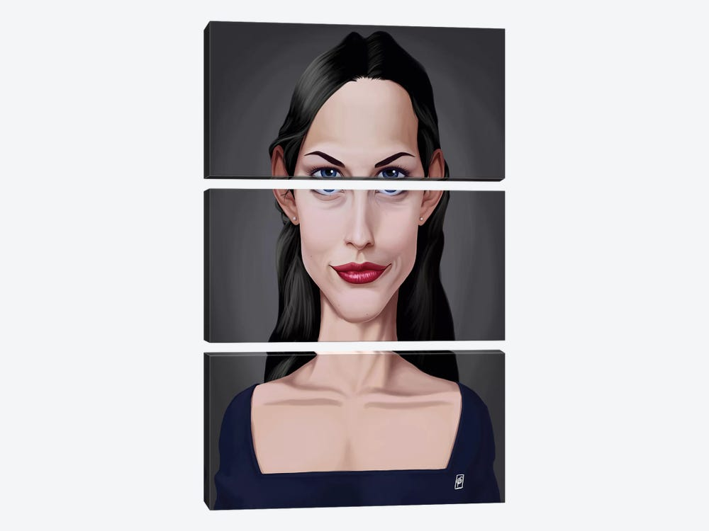 Liv Tyler by Rob Snow 3-piece Canvas Artwork