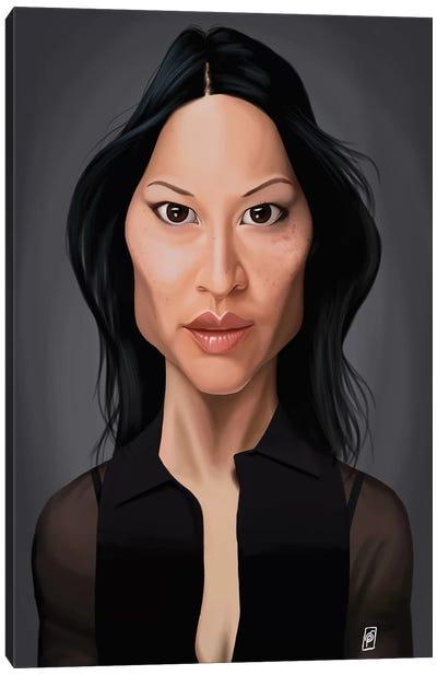 Lucy Liu Canvas Art Print