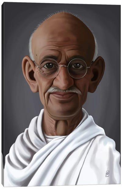 Celebrity Sunday Series: Mahatma Gandhi Canvas Print #RSW151