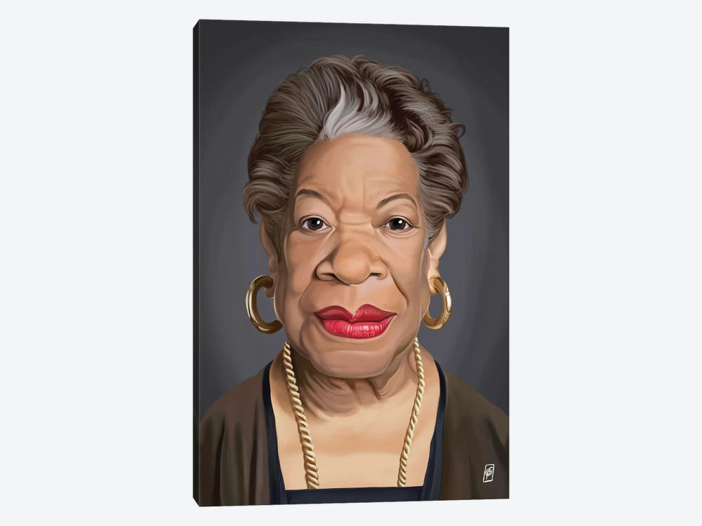 Maya Angelou by Rob Snow 1-piece Canvas Print