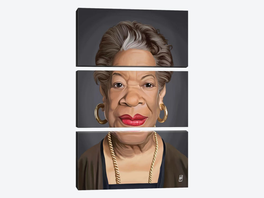 Maya Angelou by Rob Snow 3-piece Art Print