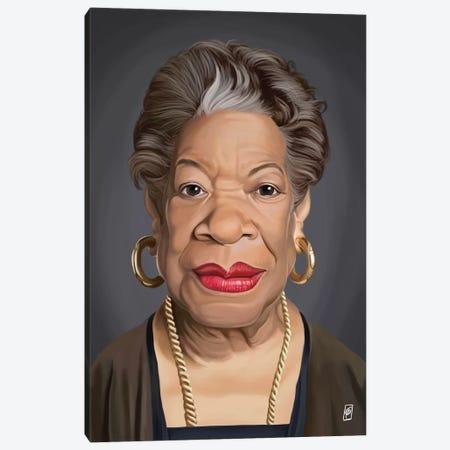 Maya Angelou Canvas Print #RSW152} by Rob Snow Canvas Art Print