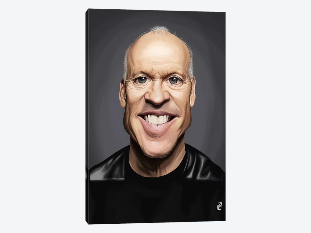 Michael Keaton by Rob Snow 1-piece Canvas Artwork