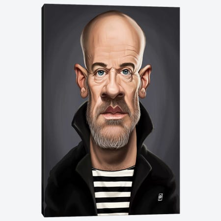 Michael Stipe Canvas Print #RSW154} by Rob Snow Canvas Artwork