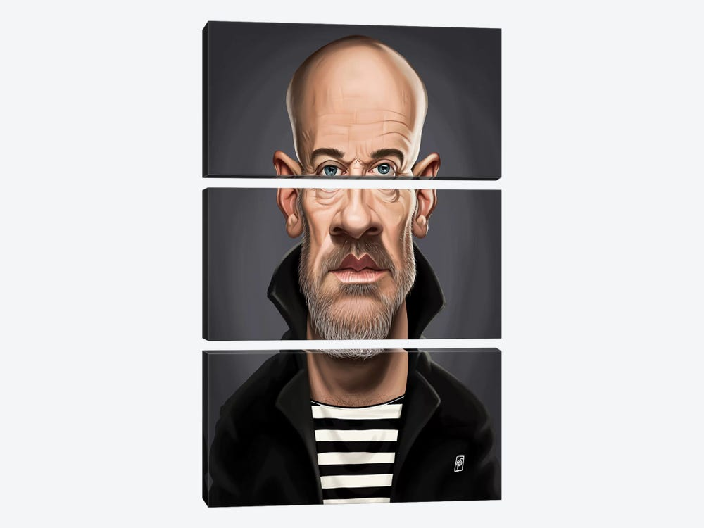 Michael Stipe by Rob Snow 3-piece Canvas Art Print