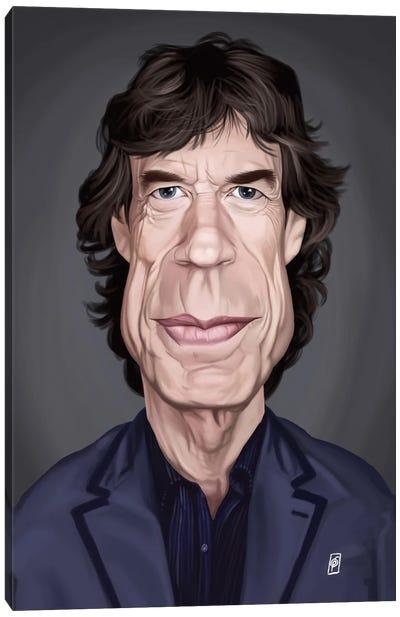 Celebrity Sunday Series: Mick Jagger Canvas Print #RSW155