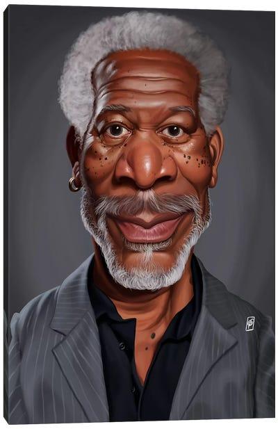 Morgan Freeman Canvas Art Print