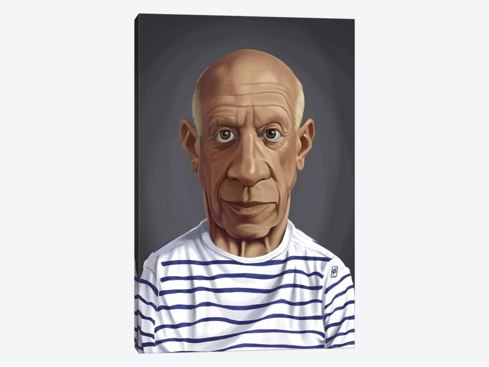 Celebrity Sunday Series: Pablo Picasso by Rob Snow 1-piece Canvas Artwork