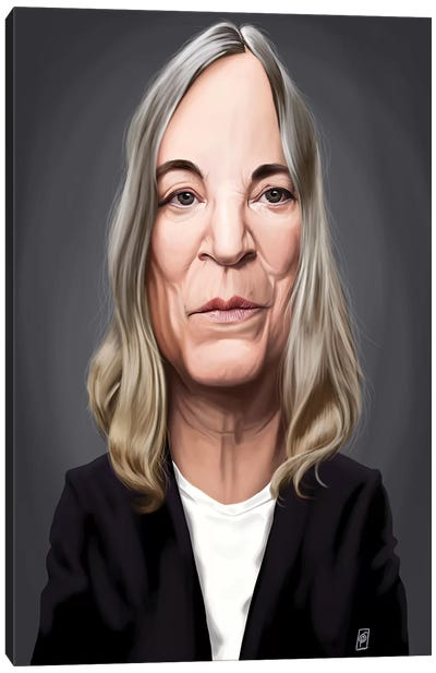 Patti Smith Canvas Art Print
