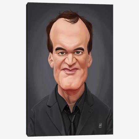 Quentin Tarantino Canvas Print #RSW162} by Rob Snow Canvas Art