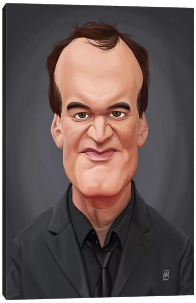 Quentin Tarantino Canvas Art Print